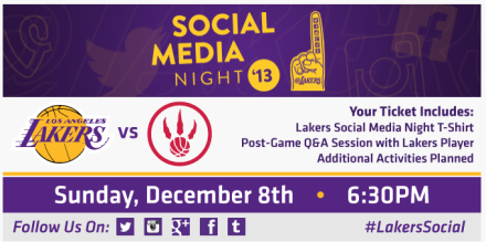 Los Angeles Lakers Social Media Night Teaser