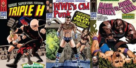 wwe superstars comic - super genius