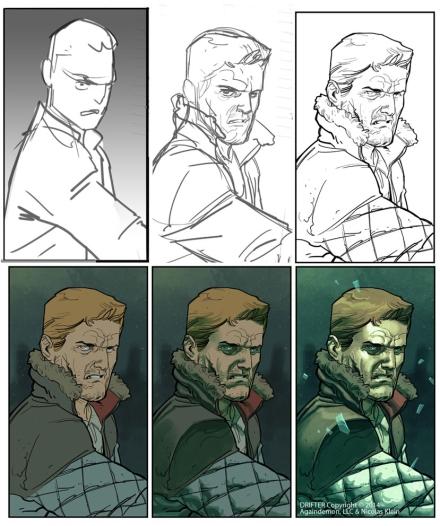 Drifter Image Comics von Nic Klein